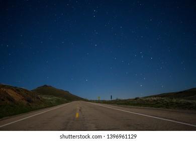 astro photo stars galaxy sunset