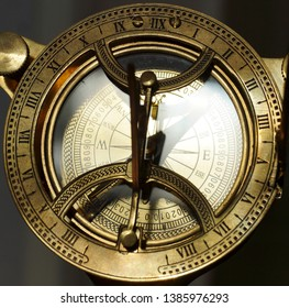 Astrolabe is an ancient navigational tool for travel.