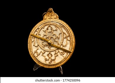 An astrolabe is an elaborate inclinometer, and can be considered an analog calculato, Late 16th century; Flemish, Ferdinand Arsenius