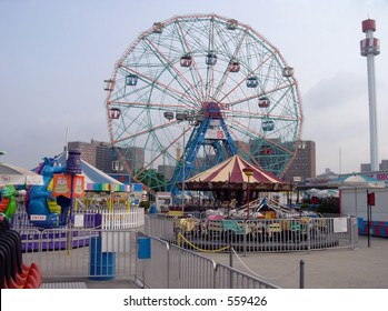 Astroland Amusement Park, Coney Island, Brooklyn, New York