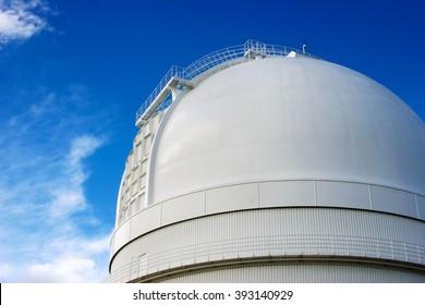 astrological observatory, dome, calar alto, spain