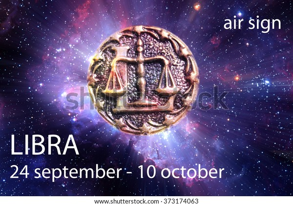 Astrological Sign Libra Date Element Stock Photo (Edit Now