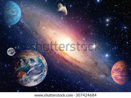 Astrology astronomy earth moon