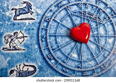 astrology and love concept