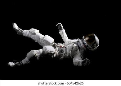 astronaut and flag