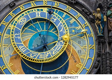 Astronomical Clock in the Old Town of Prague, Czech Republic