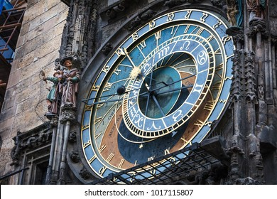 astronomical clock, Prague, Chech republic, Europe