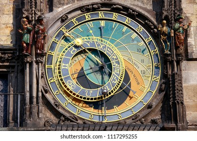 Astronomical Clock in Prague, Czech Republic