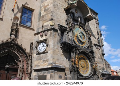 Astronomical Clock in Prague's central square