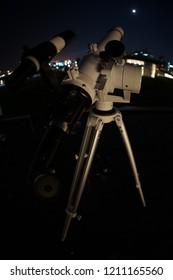 Astronomical observation image