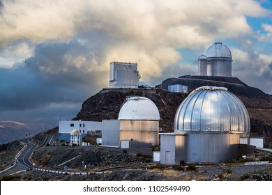 The astronomical observatory of La Silla, North Chile. One of the first observatories to see planets in other stars. Located at Atacama Desert.