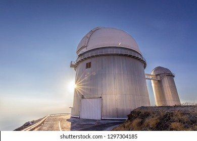 The astronomical observatory of La Silla, North Chile. One of the first observatories to see planets in other stars. Located at Atacama Desert in the altiplano an amazing sky view from the domes