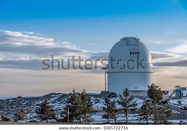 astronomical Observatory in mountain