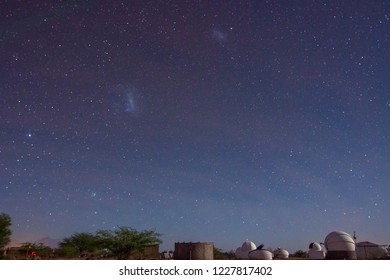 Astronomical tour at Atacama Desert close to San Pedro de Atacama town in Chile. An easy way to see the space in the darkest skies on the Earth