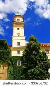 Astronomical tower in Klementinum Prague