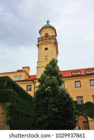 Astronomical tower in Klementinum Prague, Czech Republic