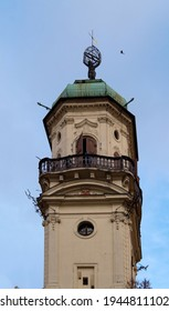 Astronomical Tower - Klementinum in Prague, Czech 12.08.2018.