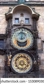 Astronomical watch Orloj. Prague. Czech Republic.