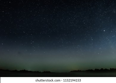Astrophotography - starry sky