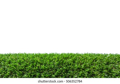 Astroturf isolated on white background