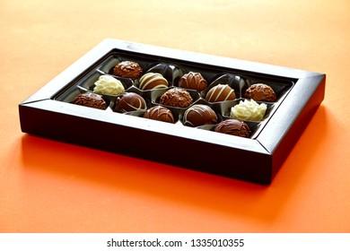 Astudio photo of boxed chocolates