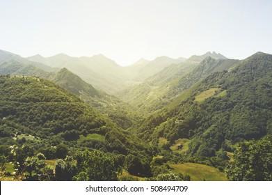 Asturias Montain