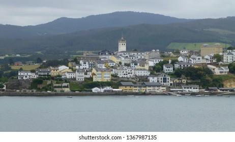 Asturias. Village of Castropol. Spain