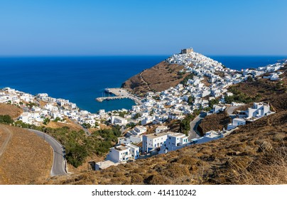 Astypalaia island Greece view from above