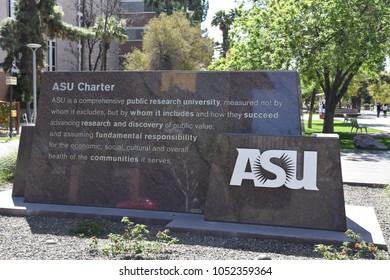 ASU Charter Arizona State University Tempe Arizona 3/17/18