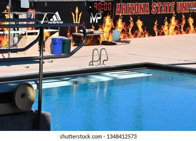 ASU diving pool at Arizona State University Tempe Arizona 3/16/19