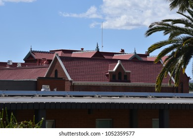 ASU Old Main roof Arizona State University Tempe Arizona 3/17/18