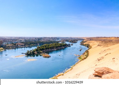 Aswan, Egypt -3rd February 2018 :The beauty of Aswan