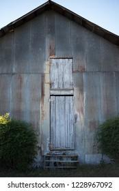 Asymmetrical Steel Door
