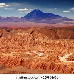 Atacama desert, Andes, Chile