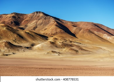 Atacama Desert in Jama Passing, border between Argentina and Chile at the northern end of both countries