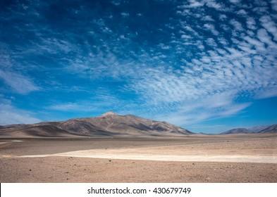 Atacama Desert near Antofagasta, Chile