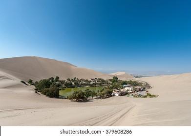 Atacama Desert, Oasis of Huacachina, Peru