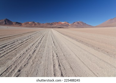 Atacama desert on Chilean Bolivian border.