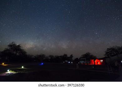 Atacama desert stars milky way