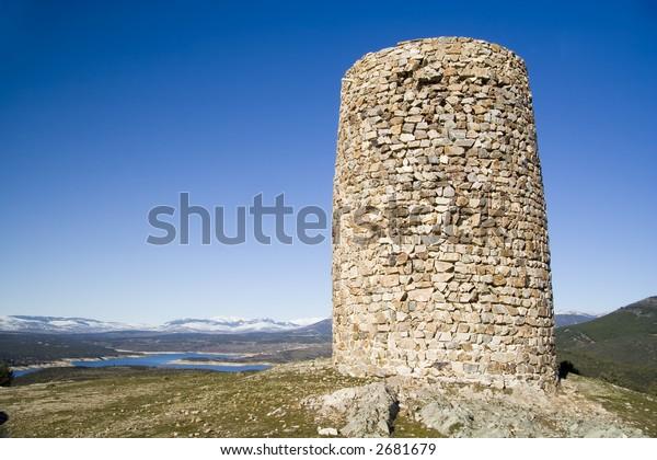 Atalaya de El Berrueco is a Moorish defense tower from the 10th century, situated near El Berrueco in the Community of Madrid, Spain.