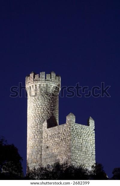 Atalaya de Torrelodones is a Moorish defense tower from the 9th century, situated in Torrelodones near Madrid, Spain.