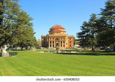 Atascadero City Hall and Sunken Gardens Park
