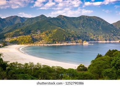Atashika Beach, Kumano, Japan.
