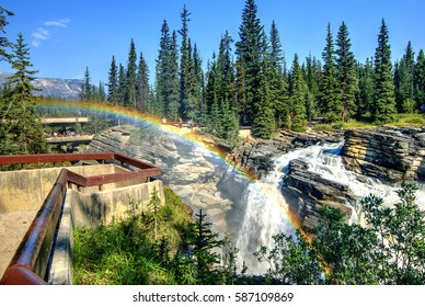 Athabasca Falls, Icefields Parkway, Jasper, Canadian Rockies