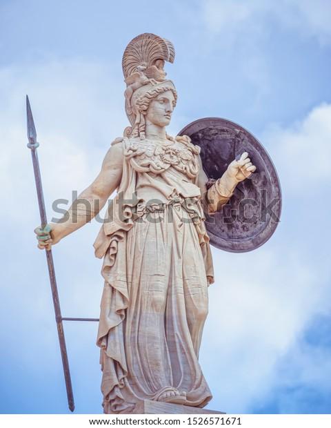 アテナ 女神 像