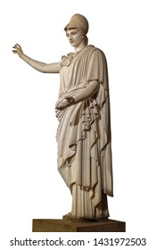 The Athena of Velletri or Velletri Pallas is a type of classical marble statue of Athena, wearing a helmet.