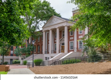 ATHENS, GA/USA JUNE 5, 2018:Robert E. Park Hall on the campus of the University of South Carolina.