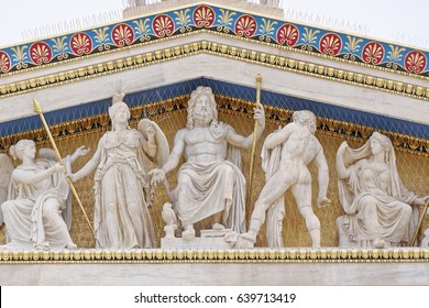 Athens Greece, Zeus, Athena and other ancient greek gods and deities
