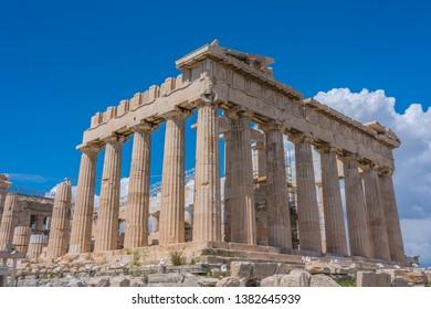 Athens Historic Parthenon Acropolis Temple