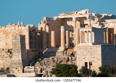 Athens the Parthenon historical center greece